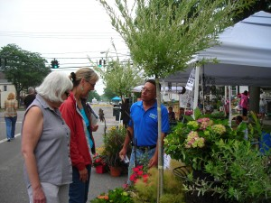 vendor at 2010 Lewiston GardenFest