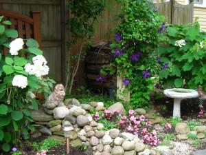 Victorian style garden Parkside Garden Tour Buffalo