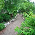 path at Williamsville Garden Walk