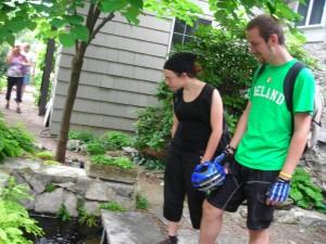 shade garden Williamsville Garden Walk
