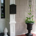 porch planter at Lewiston Garden Fest