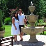 Clarence garden fountain