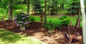 Grand Island sculpture garden