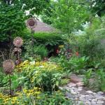 sculpture garden Elmwood Ave. Buffalo
