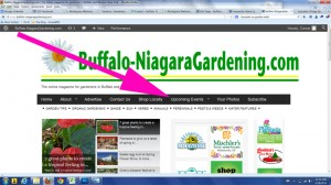 where to find Upcoming Events on Buffalo-NiagaraGardening
