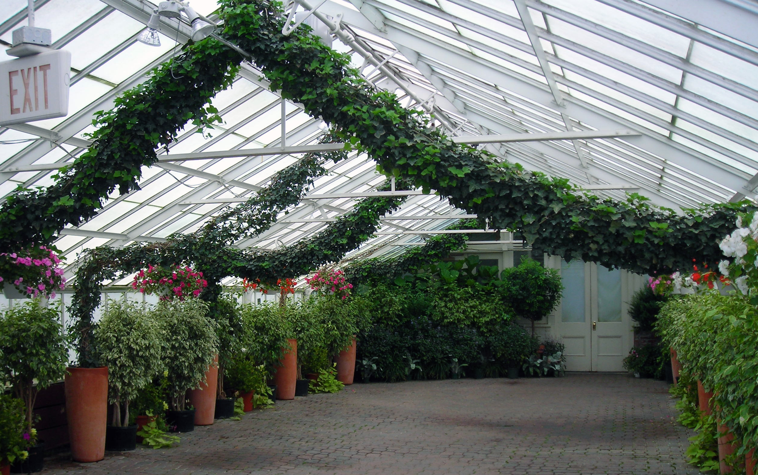 Ivy Arch At Buffalo U0026 Erie County Botanical Garden