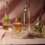 herbed vinegar from your garden