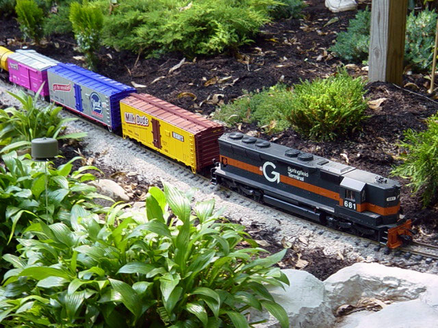 Western New York Garden Railway Keuther