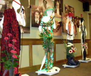 foxy lady competition at Orchard Park Garden Club