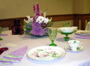 Orchard Park Garden Club flower show