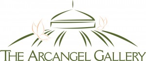 Arcangel Gallery logo at Buffalo and Erie County Botanical Gardens