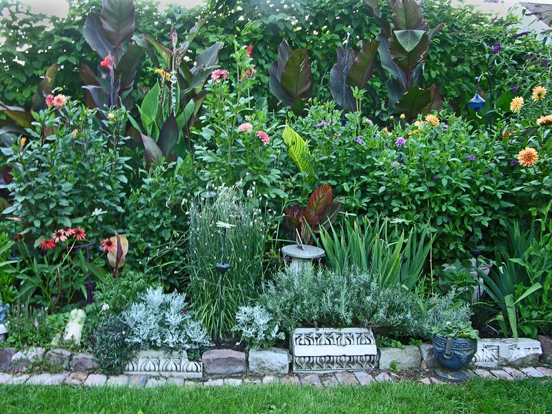 Anne Gareis side garden 1 in Buffalo NY