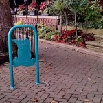 Bike rack near Red Coach Inn Niagara Falls NY