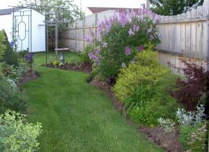 Rhonda Goldfuss garden in Lockport NY