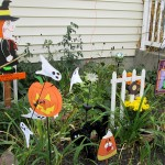 Halloween decorations in Lancaster NY by Debbie Hageman