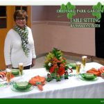 OPGC March Table Setting