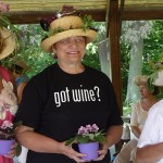 Orchard Park Garden Club awards for hats with flowers