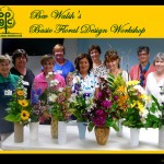 Orchard Park NY Garden Club floral design class