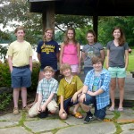 Scholarship winners from Orchard Park NY Garden Club