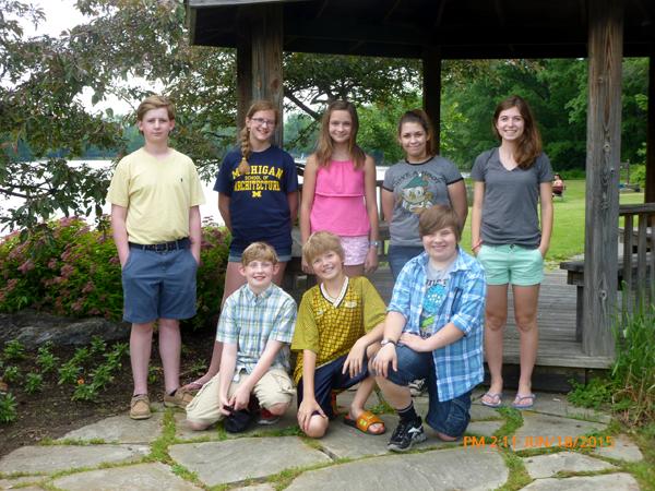 Scholarship winners from Orchard Park NY Garden Club