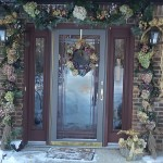 Second place in holiday decorations in Orchard Park NY