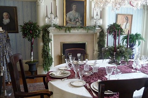 The Smallwood Garden Club received the prestigious Curator's Award for its decorations for the Victorian Christmas event at the Theodore Roosevelt Inaugural Site, 641 Delaware Ave., Buffalo.The Wilcox Mansion is where Theodore Roosevelt took the oath of office and became our 26th president in 1901. Posted April 2015