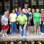Village Garden 2015 Planting from Orchard Park Garden Club