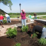 gardeners at Chestnut Ridge Park in Orchard Park NY