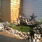 pond and rock garden from Vicki Lang in Lancaster NY