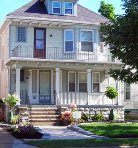 front view 48 North Parade St Buffalo