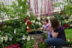 Delorme and Jenkins at Botanical Gardens in Buffalo NY