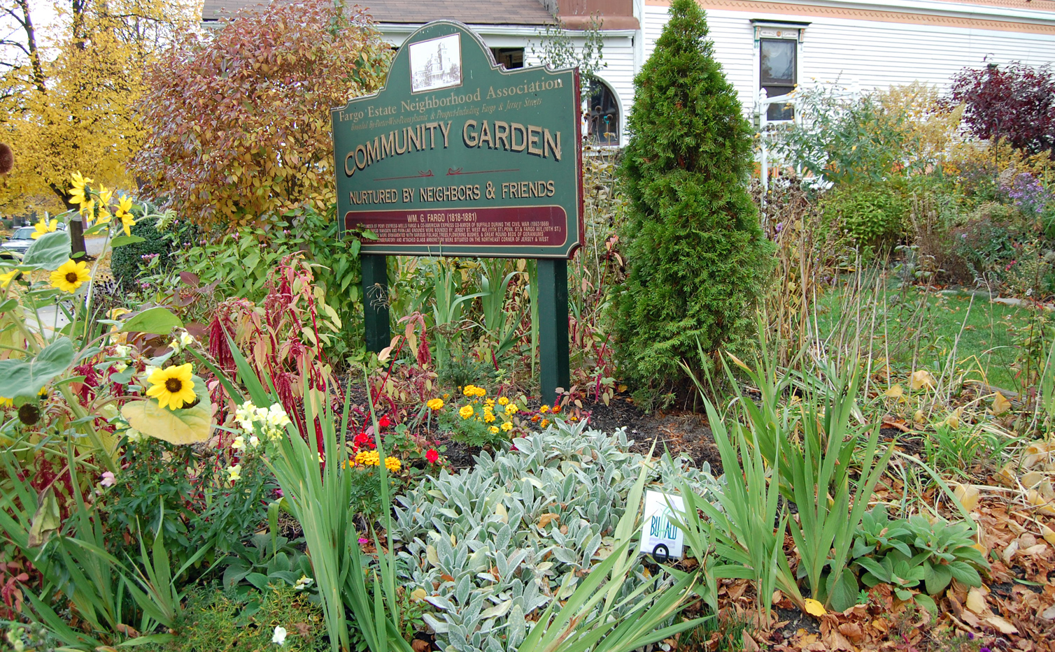 Fargo Estate Neighborhood Community Garden in Buffalo NY