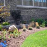 side garden at 2 North Parade in Buffalo NY