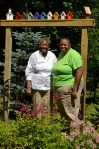 Alma Riley and daughter Jeannette Riley