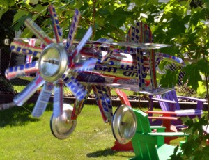 beer can airplane in Eggertsville NY