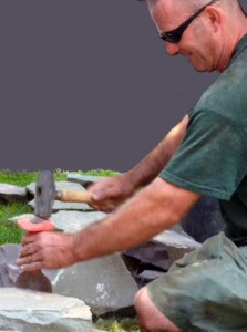 chipping stones for garden wall in Buffalo NY