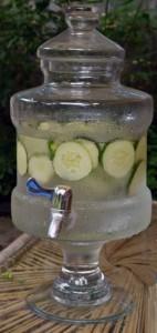 cucumber water in Buffalo NY
