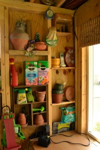 potting area in South Buffalo NY