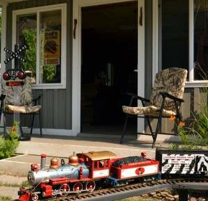 garden railway in South Buffalo NY