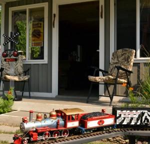 garden railway in South Buffalo NY