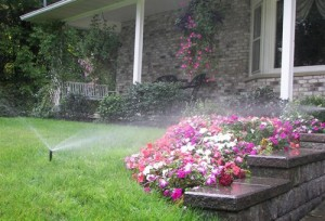 irrigate garden in Buffalo NY area