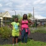 teaching garden on Buffalo's East Side