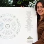 Marla Tscheider designed medicinal garden in Buffalo NY