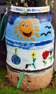 rain barrel in Hamburg NY
