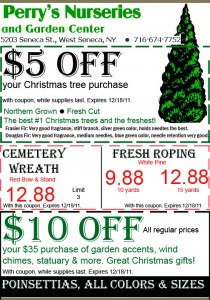 Perry's holiday coupon expires Dec 18 2011
