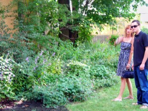 West Ferry garden in Buffalo NY 2010