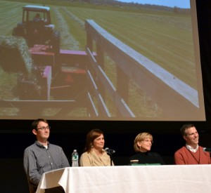 panelist Western New York Land Conservancy discussion of local food farms