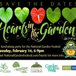 HeartsintheGardens for National Garden Festival in Buffalo