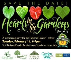 HeartsintheGardens for National Garden Festival in Buffalo
