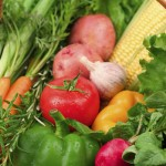 vegetables from Microsoft clip art